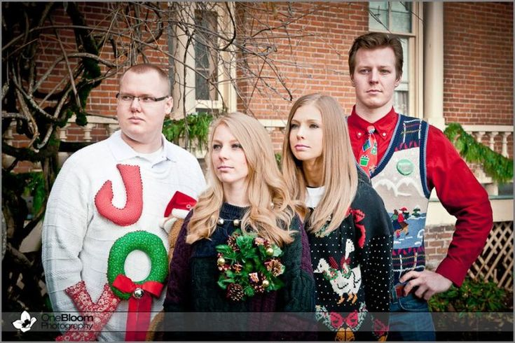 20 Funny Christmas Family Pictures