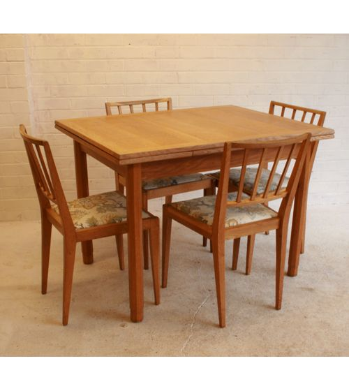 Gordon Russell Dining Table and Chairs