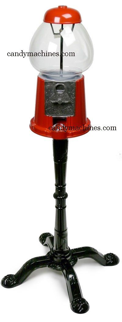 """Amazon.com: King 15"""" Classic Gumball Machine with Stand: Chewing Gum: Kitchen & Dining"""
