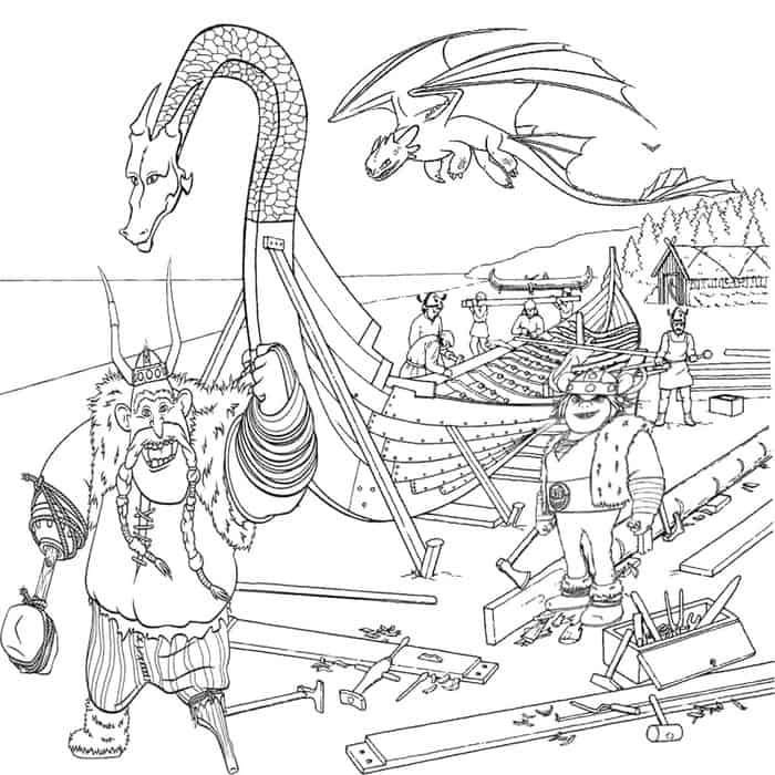 Free How To Train Your Dragon Coloring Pages Drachenzahmen Leicht Gemacht Malvorlagen Puff The Magic Dragon