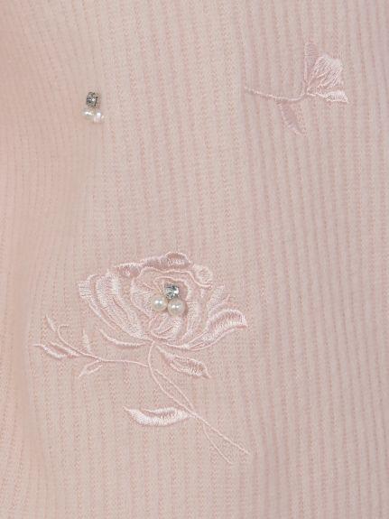 刺繍ビジュまみれニットソー(ニット)|TORTE(トルテ)|ファッション通販 - ファッションウォーカー