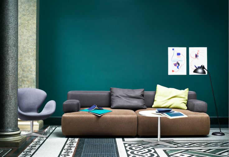 Picture by Fritz Hansen from our blog post : 7 tips for painting your walls at home http://www.interiortime.com/#tips4painting