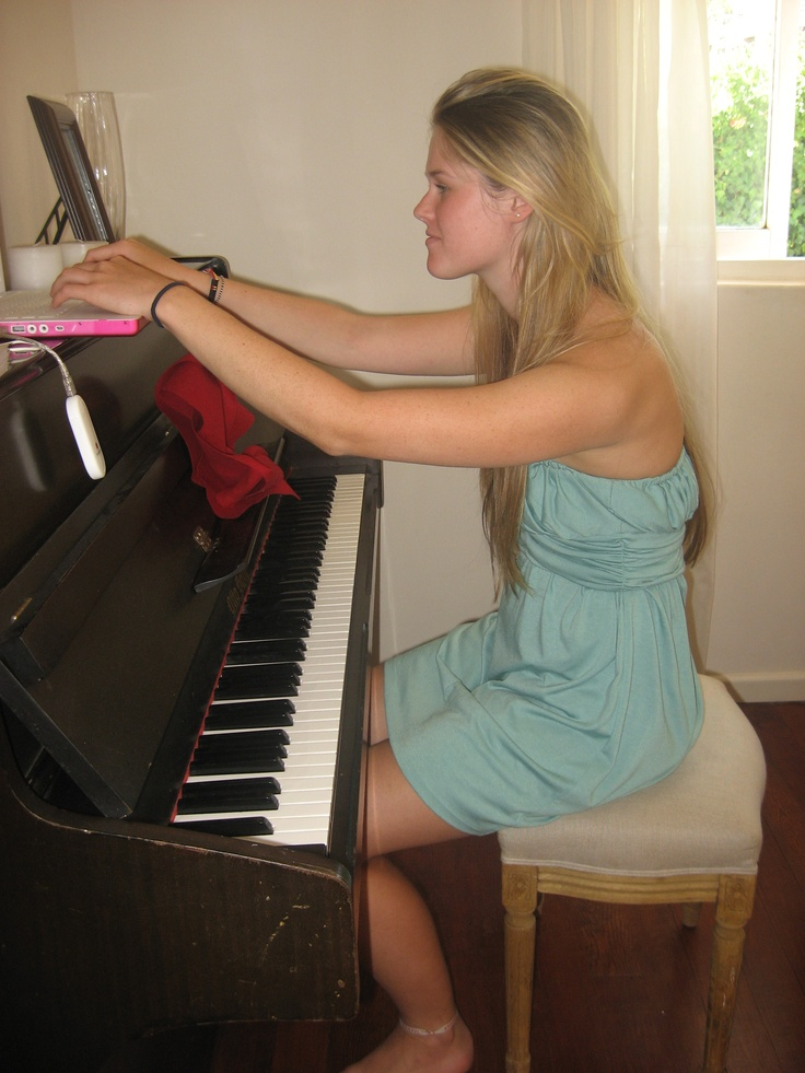 Because a piano is a must!