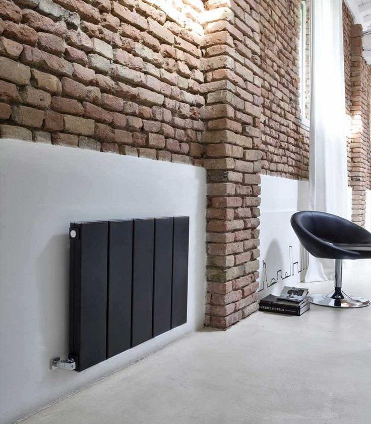Impressionnant Radiateur Eau Chaude Decoratif #12: Radiateur électrique Design- 50 Idées Salle De Bains Et Salon