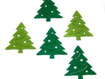 Filzapplikation Tannenbaum Weihnachtsbaum