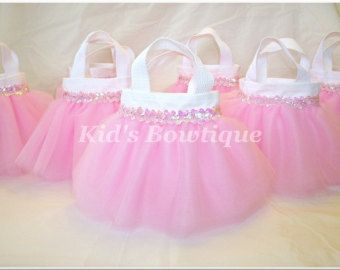 12 Princess Party Favor Tutu Bags Add to your door kidsbowtique