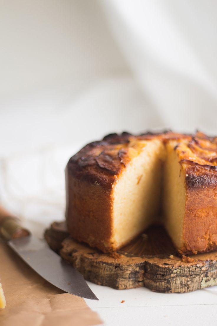 Nectarine & Lemon Cake