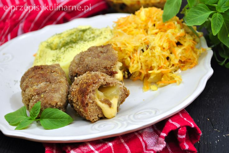 Roladki z mięsa mielonego | Przepisy Kulinarne