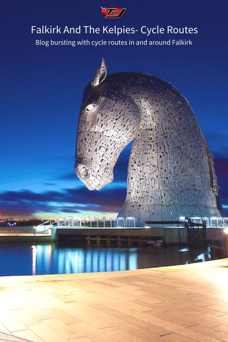 Falkirk and the Kelpies Cycle Routes Get