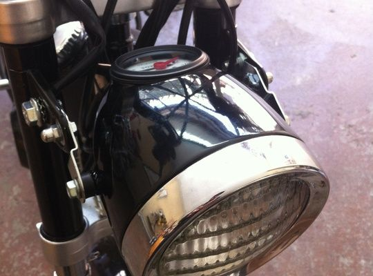 How to Add a Vintage Style Headlight to a Tomos Moped