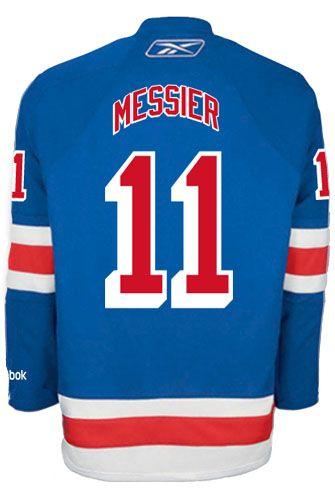 cc15d287d8e ... Jersey New York Rangers VINTAGE Mark MESSIER 11 C Official Home Reebok  Premier Replica ...
