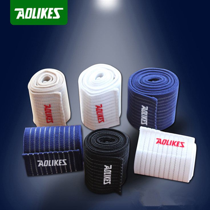 Aolikes 1 pair ankle support bandage knee wraps