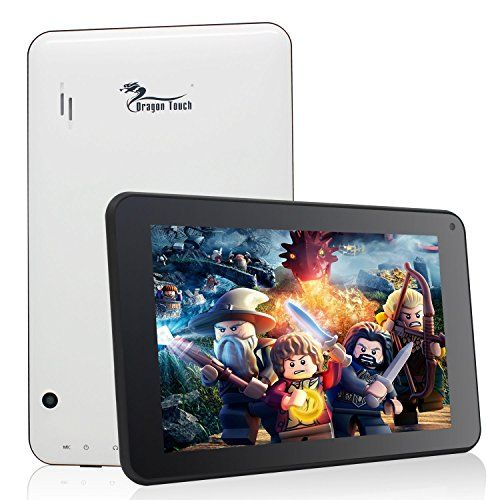 With a robust Rockchip Quad-core CPU and 1GB DDR3, Dragon Touch K7 turns out to be a perfect tablet for playing games, surfing webs, videos, listening to musics, etc.