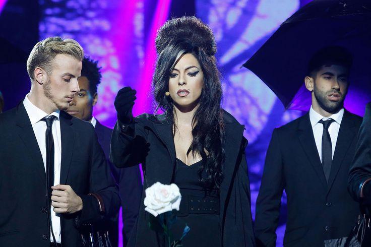 Ruth Lorenzo imita a Amy Winehouse en 'Tu cara me suena'
