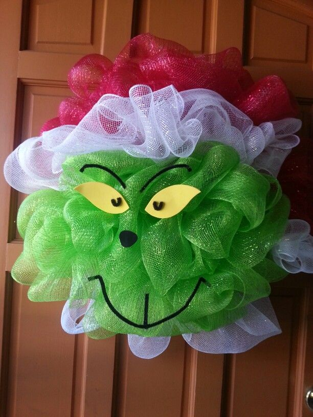 The Grinch I made :-)