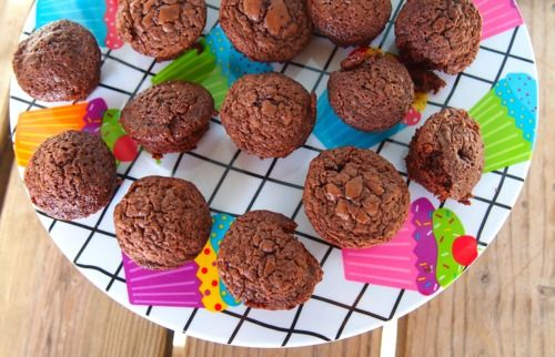 Undressed Skeleton — Skinny Mini Brownie Muffins!  Per Brownie :45 Calories, 1g Fat, 1g Protein, 14g Carbs