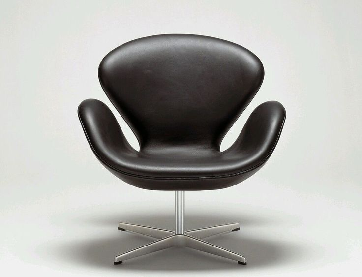 Fritz hansen schwan sessel leder designer arne jacobsen in for Sessel jacobsen
