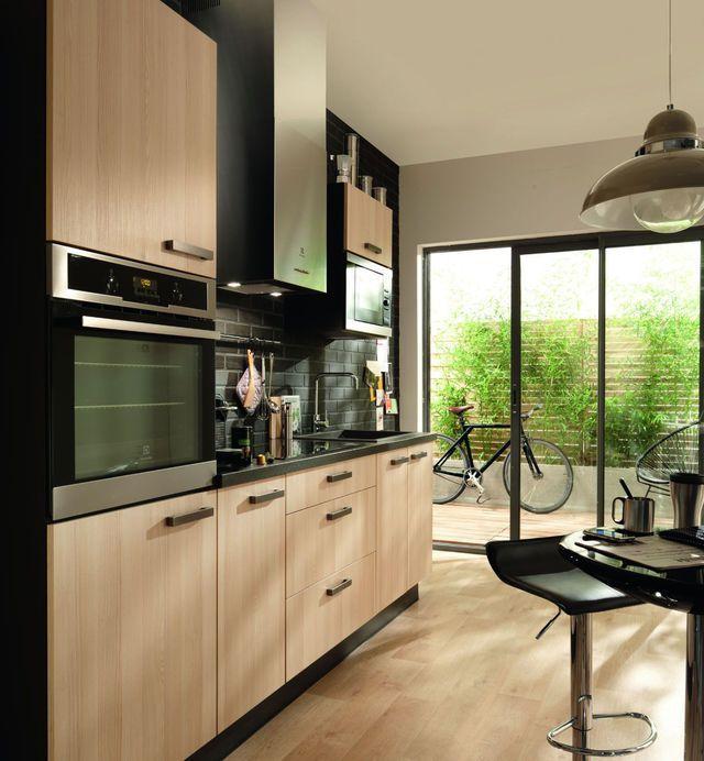 Les 25 meilleures id es de la cat gorie meuble de cuisine for Element de cuisine noir brillant