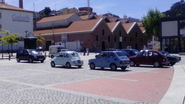 MY FIAT 126 @ PORTO CAMPANHA WITH FRIENDS