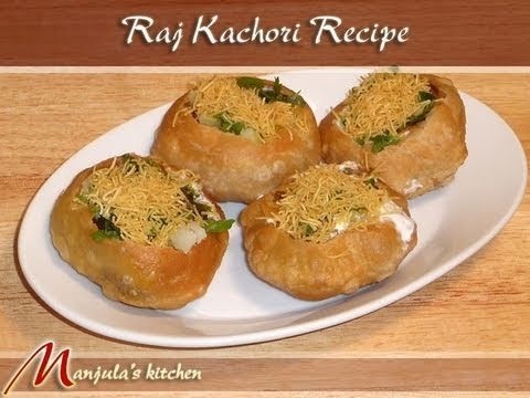 Raj Kachori (Chaat) Recipe by Manjula, Indian Snacks