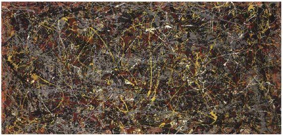 A világ legdrágább festményei: Jackson Pollock: No. 5, 1948 – 164,7 millió dollár