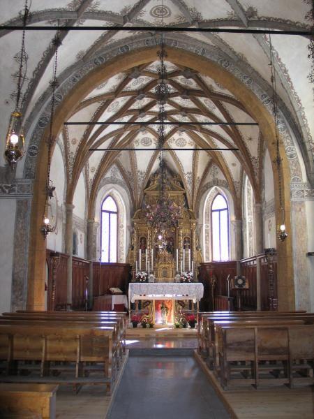 Chiesa di S. Fosca Val Fiorentina, interno