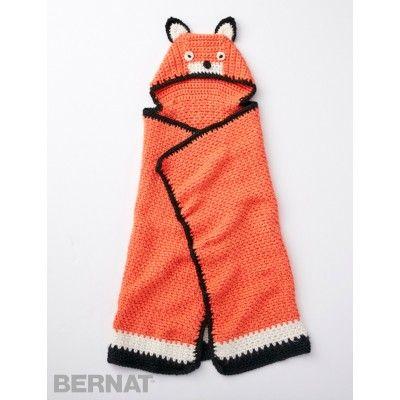 Like A Fox Blanket - free crochet Pattern | Yarnspirations
