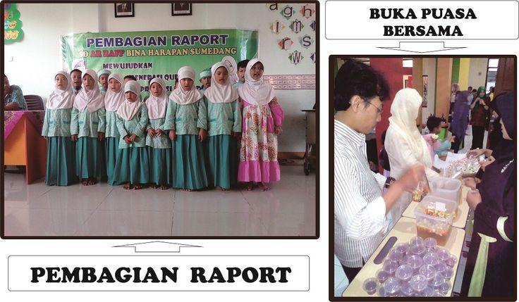 Pembagian Raport dan Buka Bersama