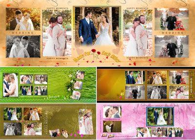Pre Wedding Al Layout Design Psd Free