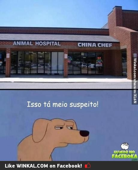 Tá suspeito!