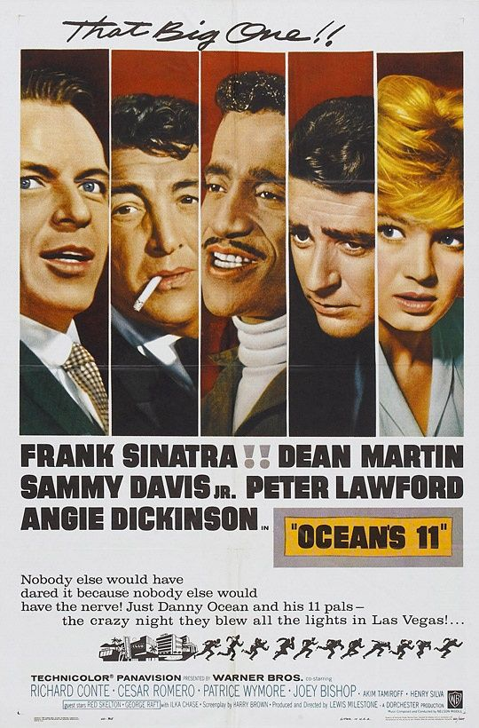 Ocean's Eleven (1960) 1/4/13 DVRed from TCM's New Year's Eve line-up