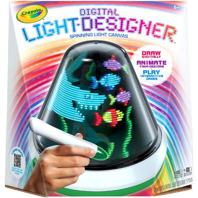 Giveaway! Crayola Digital Light Designer and Crayola Marker Airbrush on thereviewwire.com
