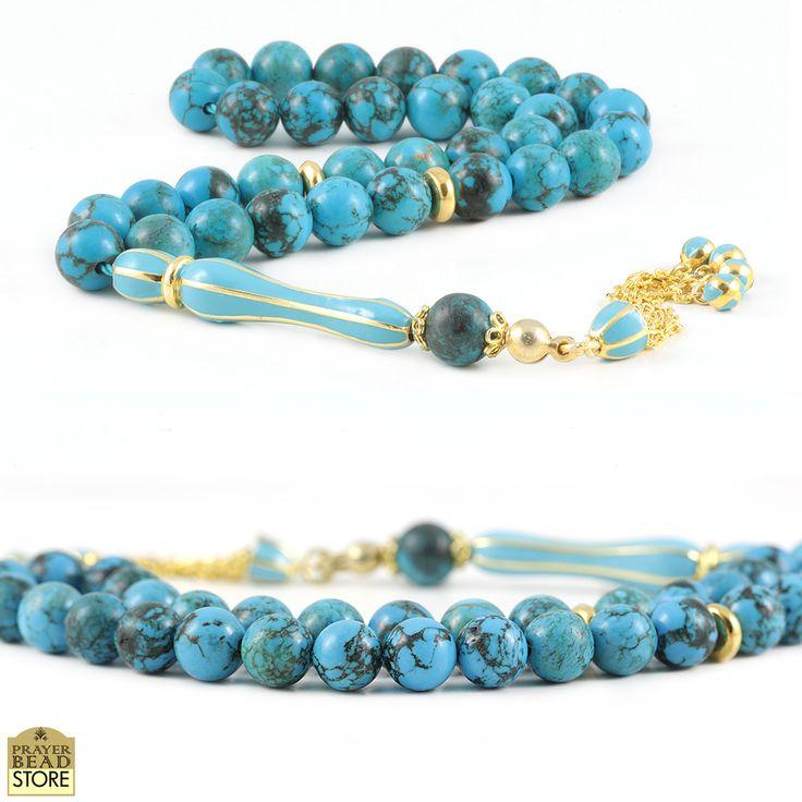 Turquoise prayer beads #prayerbeads #tasbih #misbaha #misbah
