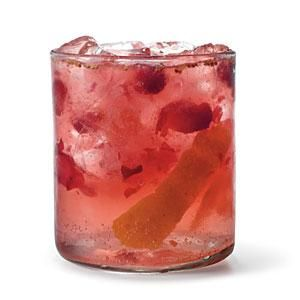 Orange juice and cranberries lend a bit of festive flair to the classic gin and tonic, making Orange-Cranberry Gin and Tonic the party perfect cocktail.