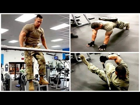 Universal Soldier in Real Life - Military Strength Training with Diamond Ott | Muscle Madness - YouTube