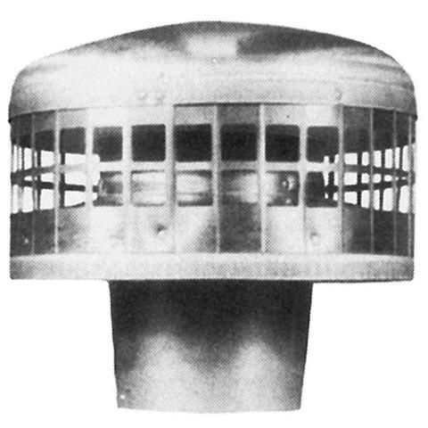 engineeringair · Metal-Fab - Type B Gas Vent Round Roof Vent Cap