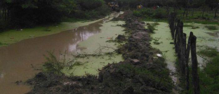 Habitantes del sur de Valledupar reclaman arreglo de vía entre Guaimaral y El Perro