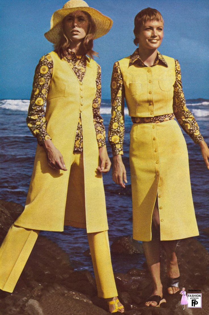 Vintage Everyday 50 Awesome And Colorful Photoshoots Of The 1970s Fashion And Style Trends 70