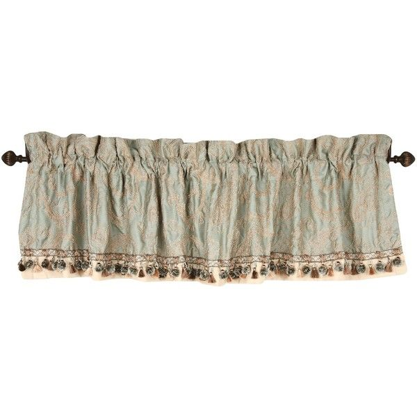 Croscill Bedford Tailored Valance ($50) ❤ liked on Polyvore