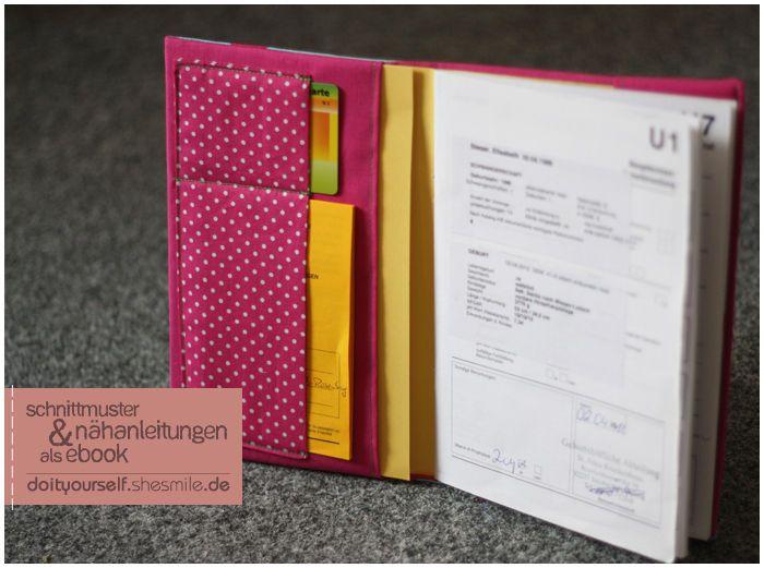 U-Heft Umschlag / Schutzhülle (Nähanleitung und Schnittmuster) - Nähanleitungen bei Makerist