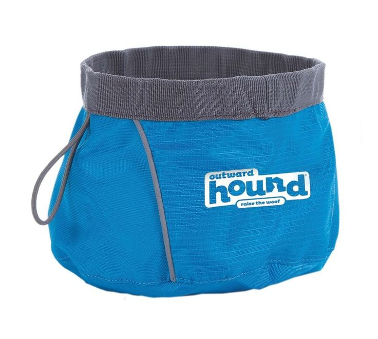 Outward Hound Portable Folding Dog Food Container Pet Food Bowl Pet Travel Bowl #OutwardHound