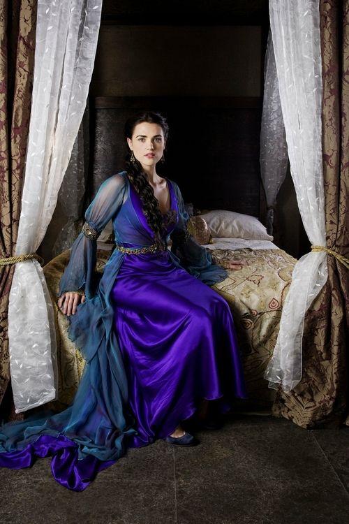 Katie McGrath as Morgana inMerlin(TV Series, 2008).