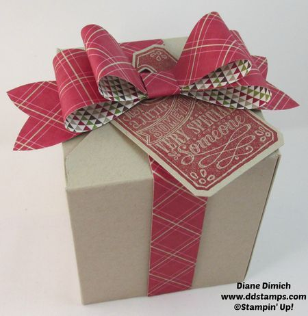 How to Make a Box With the Stampin' Up! Envelope Punch Board