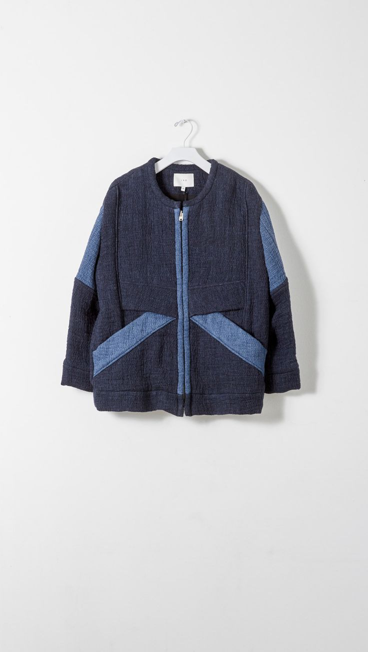 Denim Quilt Patchwork Jacket by IRO