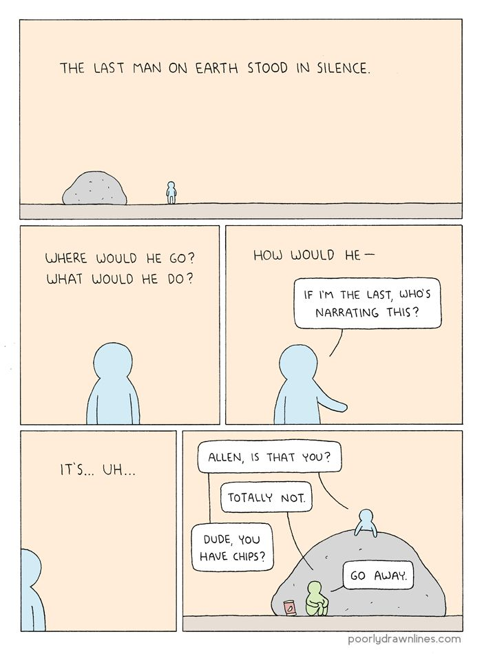 Poorly Drawn Lines – The Last Man