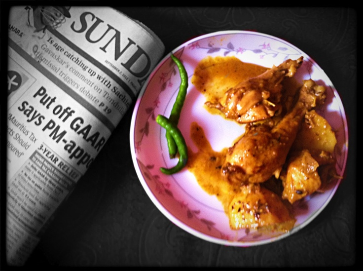 "Curries & Stories: Preview ""Mouri Chicken ~ Chicken with Fennel Seeds"""