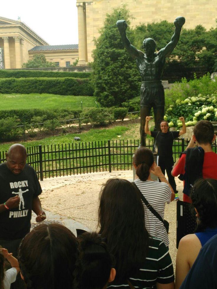 Rocky Balboa Statue!! Finally Here!!