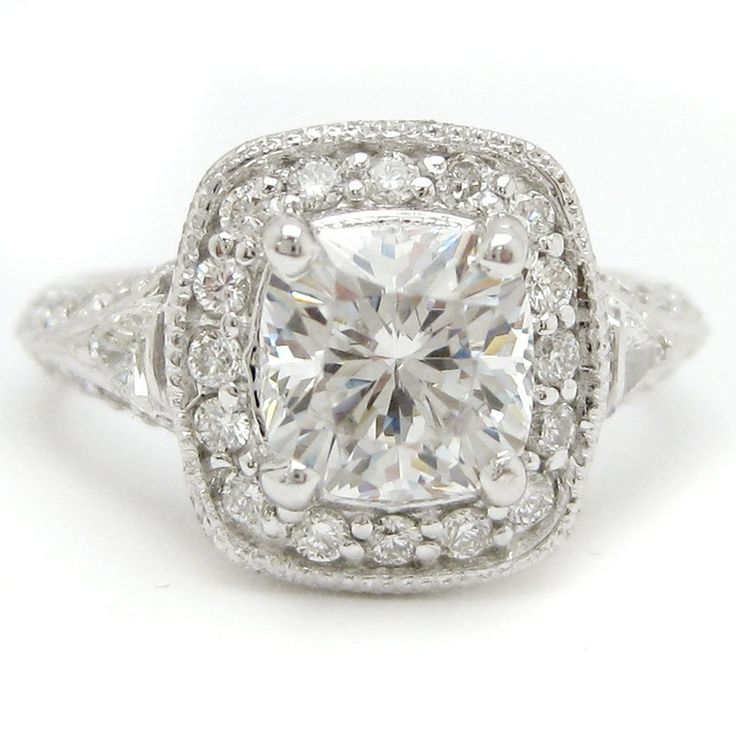 Vintage Cushion Cut -I would love a cushion cut ring for my right hand