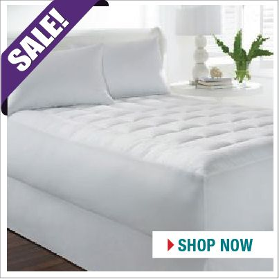 Add a little more comfort to your bed… Microfiber Mattress Pads SALE NOW ON.  http://www.beddingtons.com/p-6676-sleep-basics-microfiber-mattress-pad.aspx  #Mattress #Bed #Bedroom #Sale #Sales #Beddingtons