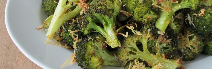 Charred Broccoli with Pecorino and Lemon Recipe from Jessica Seinfeld | Great recipes you and your family will love